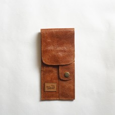 Le Tabac pipe pouch light brown 9x20 cm