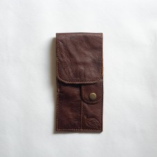 Le Tabac pipe pouch ruby 9x20 cm