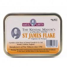 Samuel Gawith St. James Flake tin 50gr